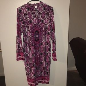 VENUS Dresses - Gorgeous stained glass long sleeve dress